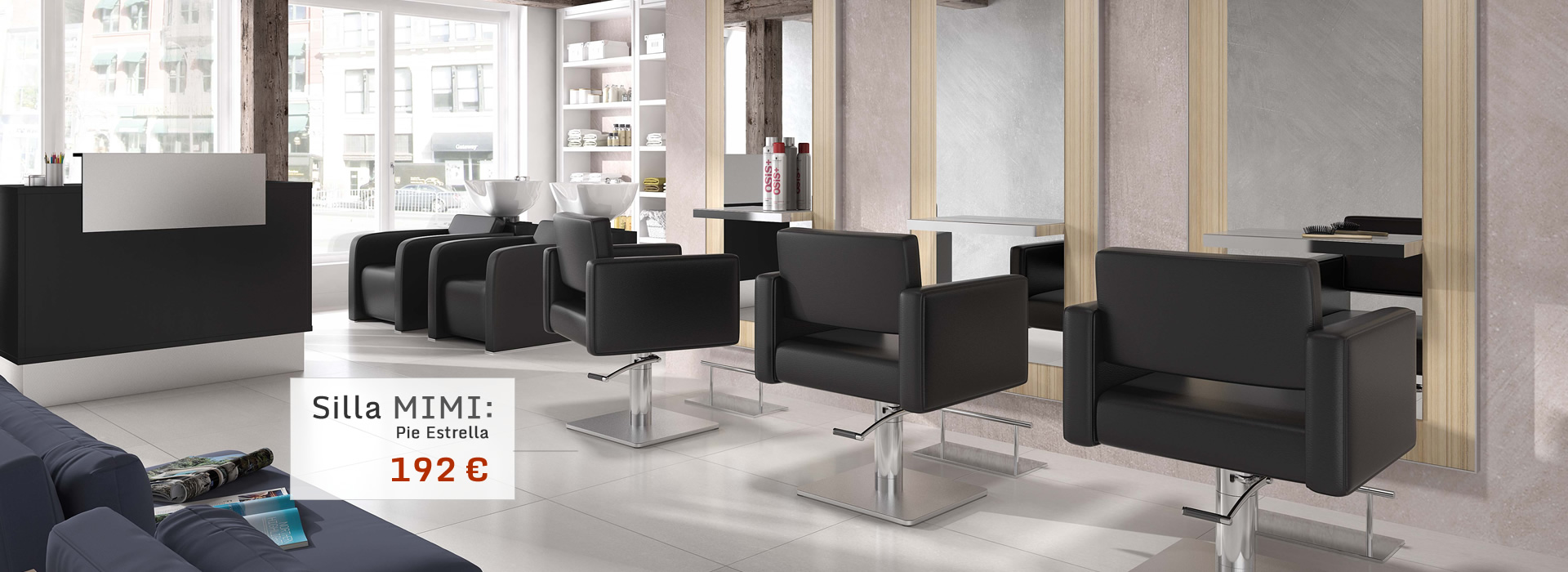 Mobiliario de peluqueria for Mobiliario empresas